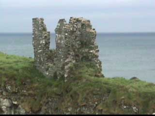 Ruiins of Dunseverick Castle